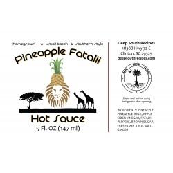 Pineapple Fatalii Hot Sauce