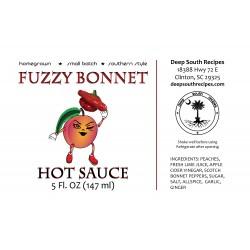 Fuzzy Bonnet Hot Sauce