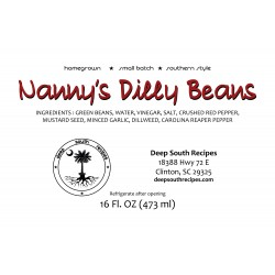 Nanny's Dilly Beans