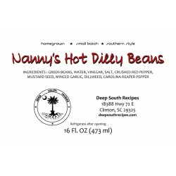 Nanny's Hot Dilly Beans