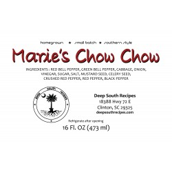 Marie's Chow Chow
